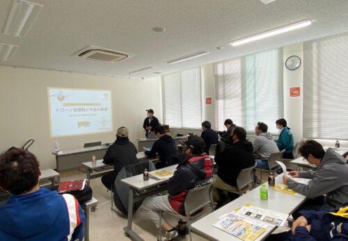 【活動報告】JA新しのつにてドローン講習会を行いました。